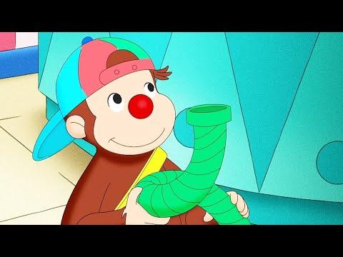 Curious George 🐵Curious George Clowns Around   Cartoons For Kids   WildBrain Cartoons
