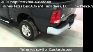 2010 dodge ram 2500 bighorn 4wd for sale in houston tx 77