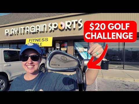 $20 PLAY IT AGAIN SPORTS GOLF CHALLENGE!! (Surprising!!)