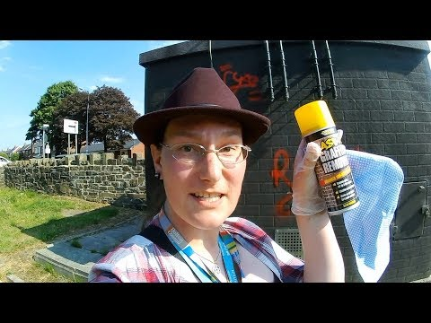 Removing Graffiti in Westhoughton - The Vlog #425