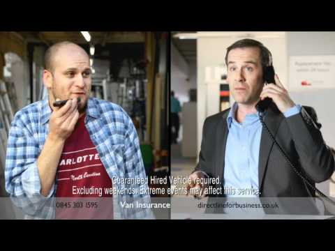 STEVE! - Direct Line for Business van insurance TV advert