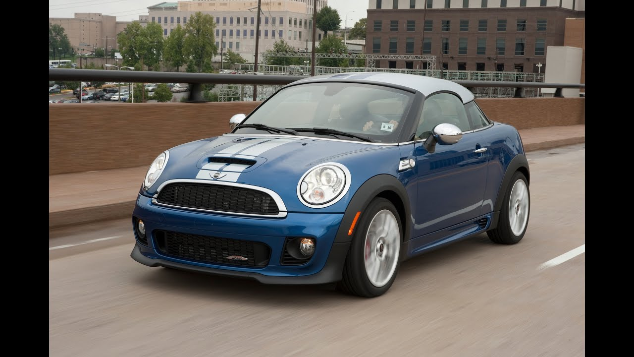 2012 mini cooper jcw coupe drive time review with steve. Black Bedroom Furniture Sets. Home Design Ideas