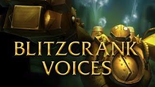 LoL Voices - Blitzcrank - All 17 languages