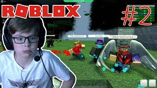 ROBLOX Disaster Island | IT'S A TORNADO!!!