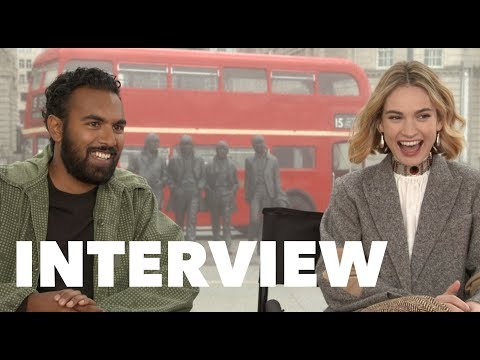 YESTERDAY Interviews: Himesh Patel, Lily James, Danny Boyle, Richard Curtis