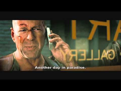 Die Hard 4 Capitol Building  Explosion Scene