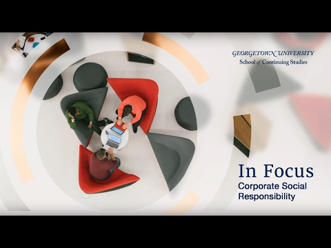 In Focus | Corporate Social Responsibility | Public Relations & Corporate Communications