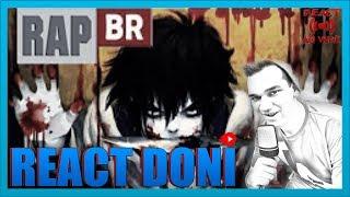 React 🔴 Rap do Jeff The Killer
