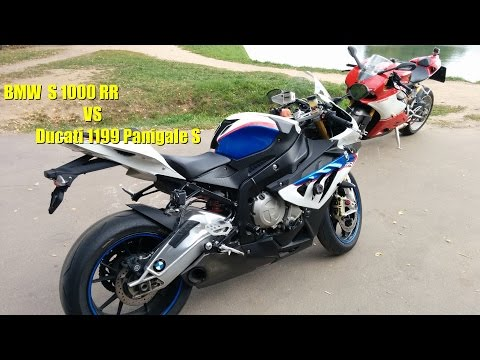 Кто быстрее BMW S1000RR или Ducati 1199 Panigale S? Скоростной тест на ЧТК
