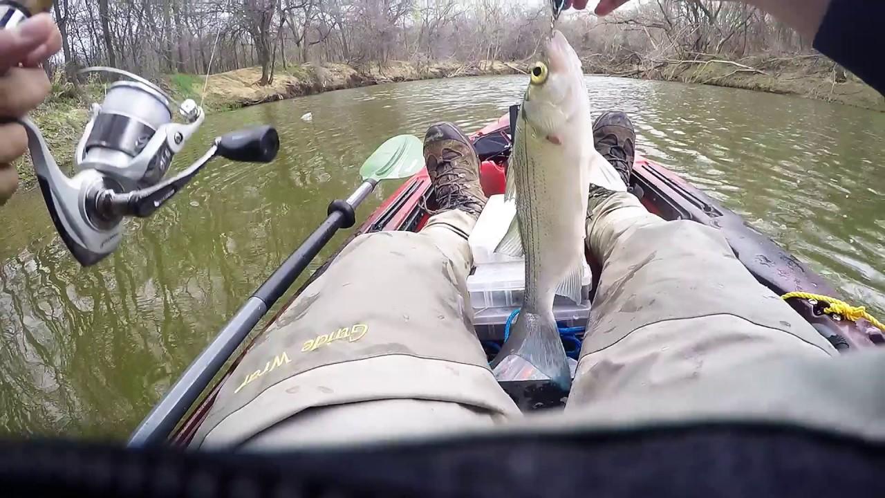 Kayak Fishing Walnut Creek At Joe Pool Lake Youtube