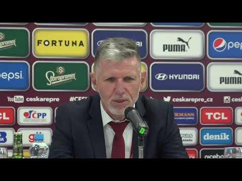 Tisková konference po zápase s Běloruskem