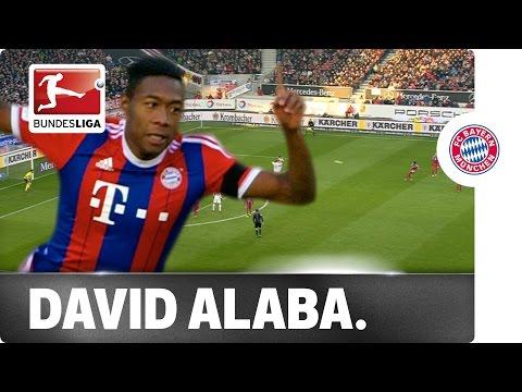 Alaba's Gorgeous Free Kick