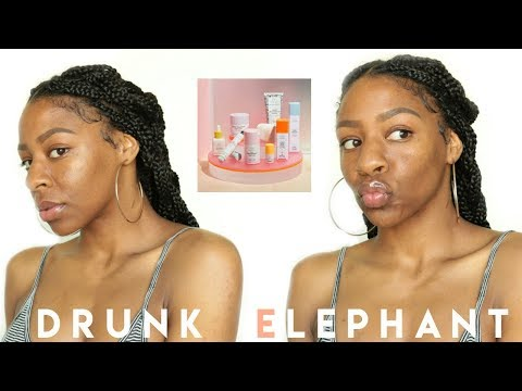 I Used Only Drunk Elephant Skin Care for 5 Days!! Is It Worth the Price Though?! thumbnail