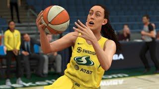 WNBA 2K20 No Crowd - Chicago Sky vs Seattle Storm Full Game (NBA 2K20 Gameplay)