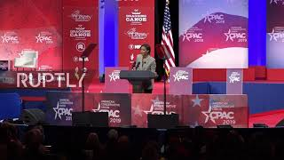 USA: 'America is not a racist country' - conservative pundit Owens at CPAC