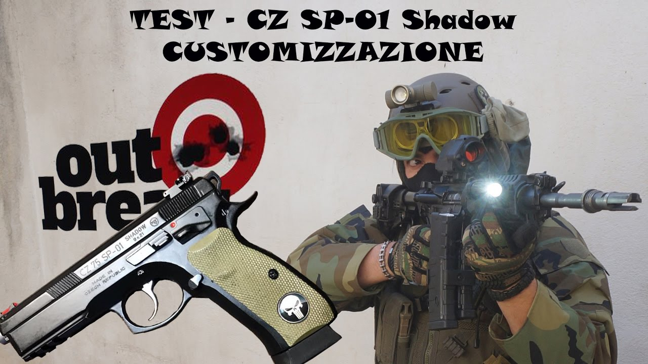 CZ 75 SP01 Shadow Custom
