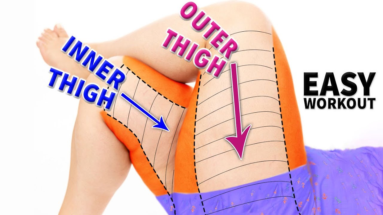 INNER + OUTER THIGHS | EASY WORKOUT
