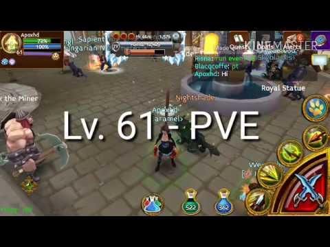 Arcane Legends - Rogue PVE Build Lv 61