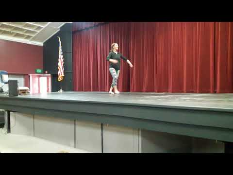 Dance audition for heritage academy Music Man
