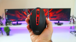 Awesome Buget Wireless Gaming Mouse - Redragon Shark M688 Review