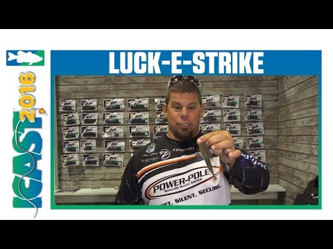 New 2017 Luck-E-Strike Lures With Chris Lane | ICAST 2016