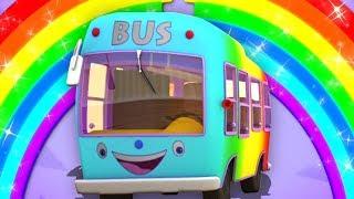 боб колеса на автобусе | боб автобус песня | Bob Train Wheels On The Bus | Bob The Train Russia