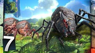 ARK: Survival Evolved Ragnarok - GIANT SPIDERS!