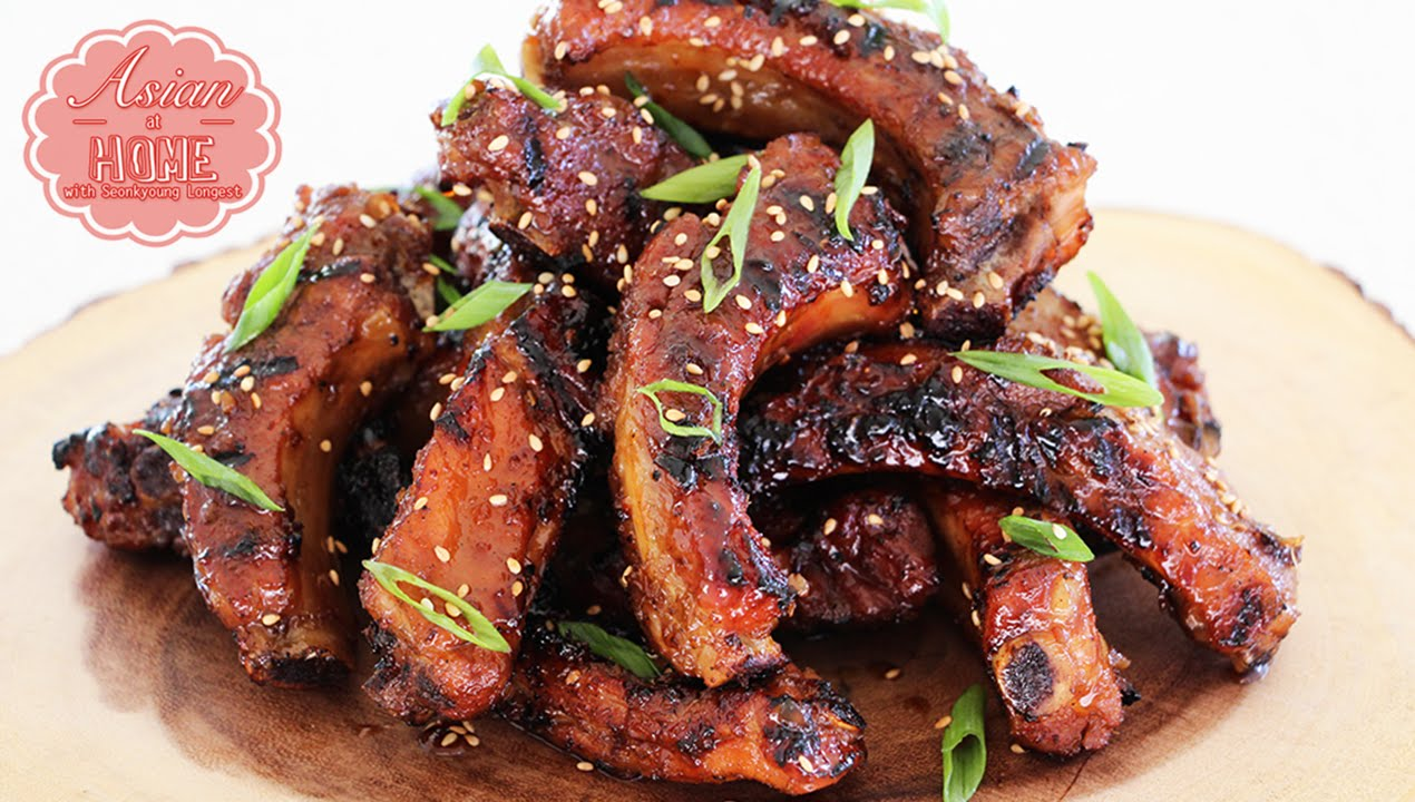 Bbq pork spare rib recipes grill