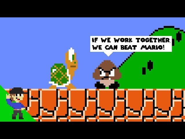 Goomba and Koopa join forces