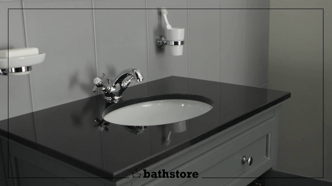 Savoy Charcoal Grey 790 Basin Unit With Granite Top And