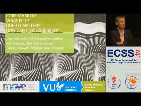 Core Stability: What is it? - Prof. van Dieën
