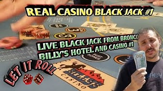Black Jack Real Live Casino - Not a bad win for a rookie!