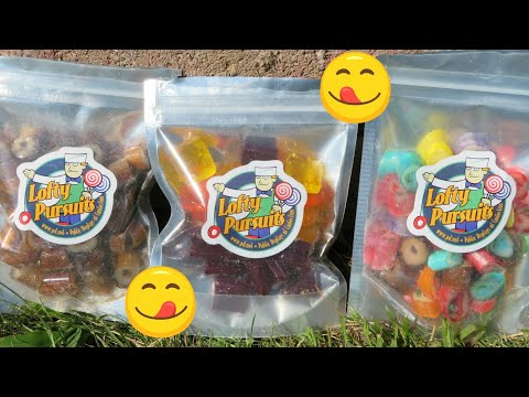 Candy taste test!  Featuring Lofty Pursuits