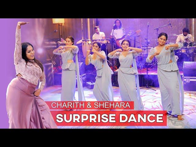 SURPRISE WEDDING DANCE | CHARITH AND SHEHARA WEDDING DAY
