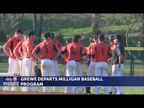 David Grewe steps down after one season as head coach of the Milligan baseball program