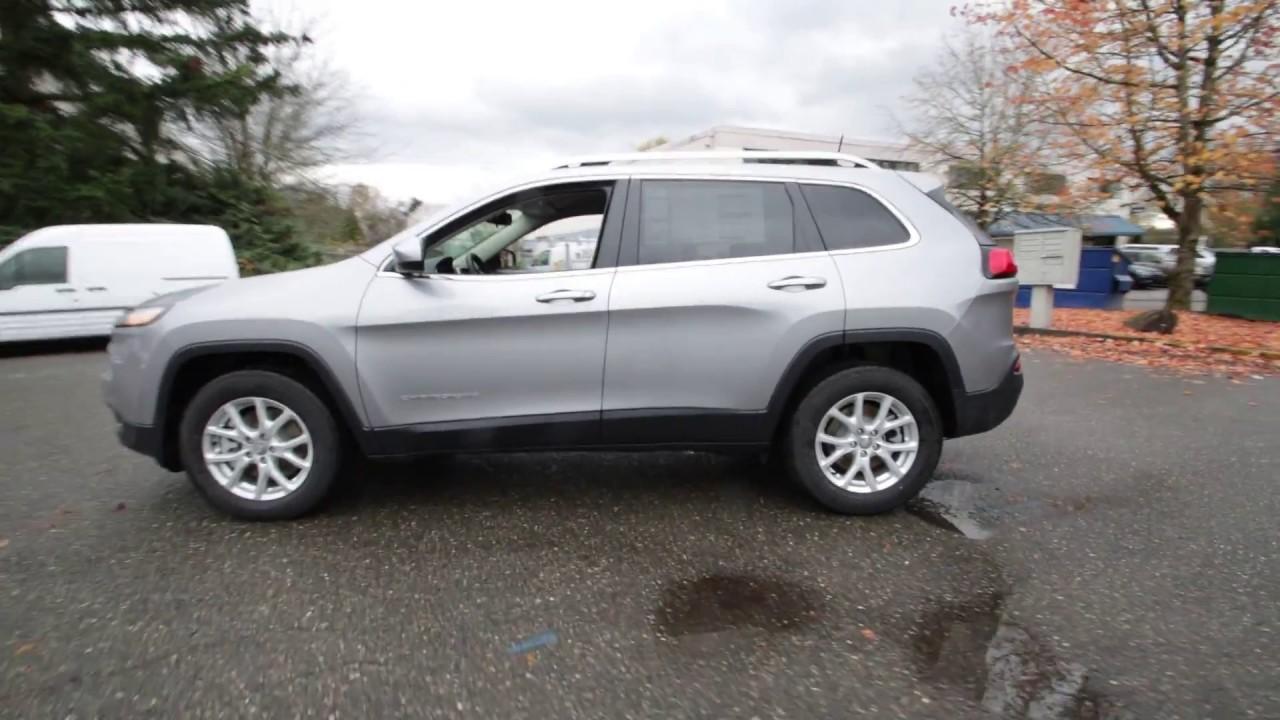 2017 jeep cherokee latitude | billet silver metallic | hw545271