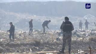 تواصل عمليات البحث عن الشاب حمزة الخطيب لليوم السابع على التوالي (14/1/2020)