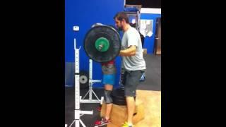 box squat 102 kilos
