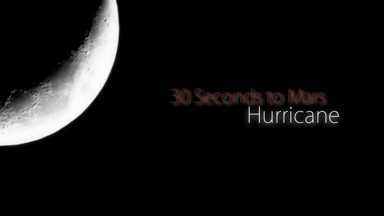 30 Seconds to Mars - Hurricane { Lyrics } - YouTube