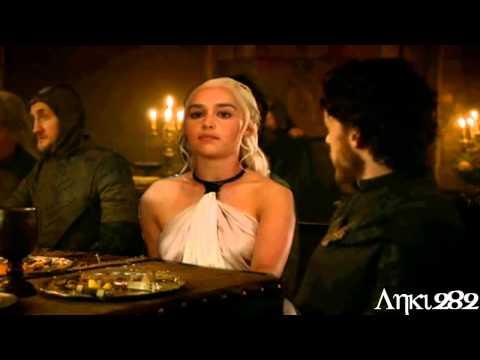 Jon & Sansa - Robb & Dany A Veil of Ice Fire and Love AU