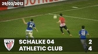 ⚽️ [Europa League 11/12] 1/4 final (Ida) I Schalke 04 2 - Athletic Club 4 I LABURPENA