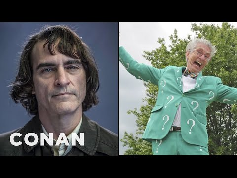 Exclusive New Photos From Joaquin Phoenix's Joker Movie- CONAN on TBS