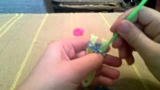 Плетение из резинок.Урок 3
