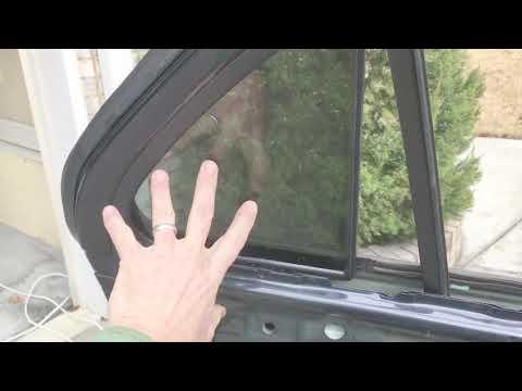 Andy's DIY: Replace 2008 Kia Sorento rear quarter glass