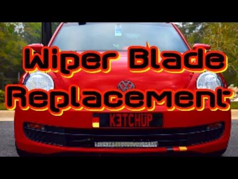 2012 And Up Volkswagen Beetle Wiper Blade Replacement