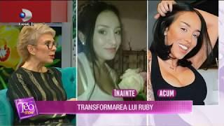 Teo Show (24.10.2019) - Dana Savuica, primul iepuras din Romania! Transformarea lui Ruby!