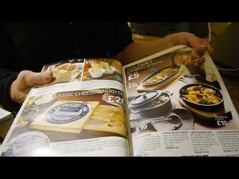 ASMR Home shopping catalogue consultant (Avon etc). Tapping,
