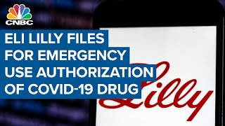 Eli lilly said on wednesday it had submitted a request to the u.s. food and drug administration for emergency use of its experimental antibody treatment ...