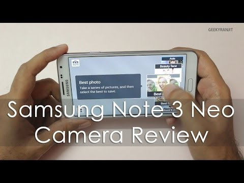 Samsung Galaxy Note 3 Neo Camera Review with Samples