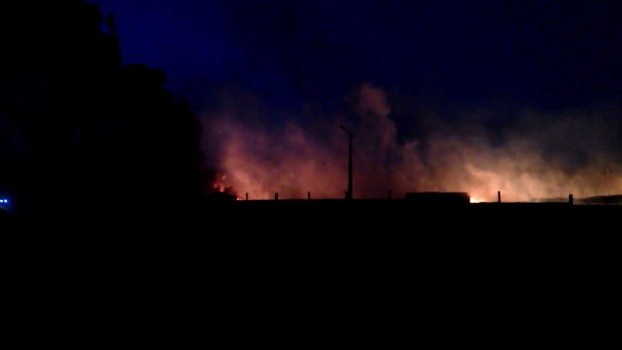 Донецк, 09.04.2018. Пожар на Текстильщике (2)